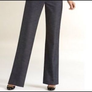 Ann Taylor LOFT Julie pants 8 petite dark gray